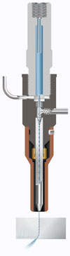 Waterjet Nozzle Diagram